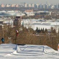 Крылатские холмы. :: Yuri Chudnovetz