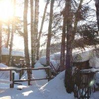Зимний пейзаж :: Ro Ze