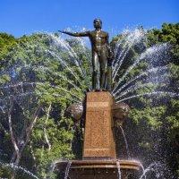 Фонтан в г. Сидней (Австралия) :: Евгений Лимонтов