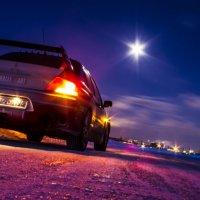 Ночная ледовая трасса :: Алексей Кепычъ