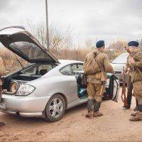 Советские солдаты, вцелом, жили неплохо. :: Андрей Аринушкин