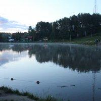 Утренняя рыбалка :: Наталья Золотых-Сибирская
