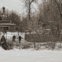 Прогулка по Сокольникам :: Евгений Жиляев