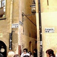 Вход на самую узкую улицу в Стокгольме :: Дмитрий Бубер