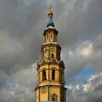 Колокольня Петропавловского собора. Казань, октябрь 2010 г. :: Alexey Malishev