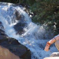 водопад в далате, вьетнам :: olga zgordan