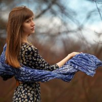 Тростинка на ветру. :: Анна Тихомирова