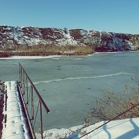 Замерзший пруд :: Dasha Swarovski