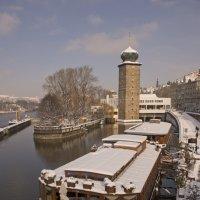 снег в Праге :: Наталья Агеева