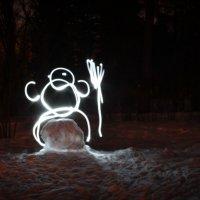 Снеговик :: Alena Ldinka