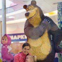 В гостях у Маши и медведя :: Наталья Панина