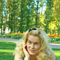 Осенняя блондинка)) :: Кристина Шамсутдинова