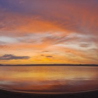 Закат над оз. Белё :: Александр Иванов