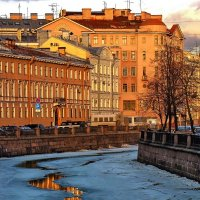 Первое тепло :: Ольга Тихомирова