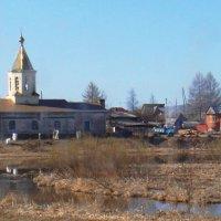Единоверческий храм.в селе Горбуново. :: Елизавета Успенская
