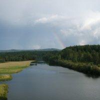 Река Серга :: Сергей Комков