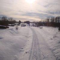Кругом снега.... а, завтра март... :: Mariya laimite