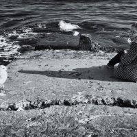 Девочка и чайка :: Вахтанг Хантадзе