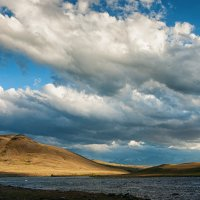 Река Ховд Гол у впадения р. Годон Гол :: Алексей Вуколов