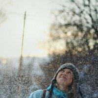 юю в снегу :: Ольга Донец
