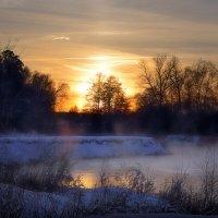 На закате последнего воскресенья января.. :: Андрей Войцехов