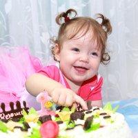 Первый день рождения :: Ольга