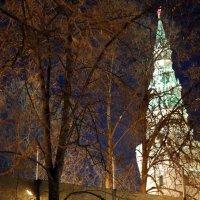 ночные миражи знакомых строений :: Олег Лукьянов
