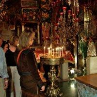 На Голгофе.  Иерусалимские картинки. :: Leonid Korenfeld