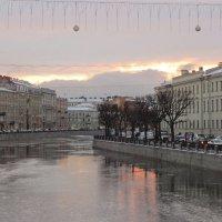 конец декабря на Фонтанке :: Елена