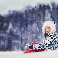 среди снежинок :: Анастасия Крылова
