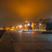 В огнях ночного Днепропетровска :: Denis Aksenov