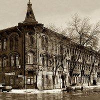 Дом Челышова ,сепия :: Ирина ***