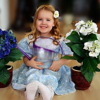 Кирины цветочки :: Ната Коротченко