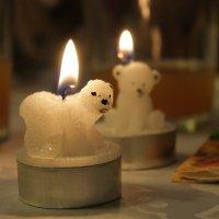 Свеча горела на столе, свеча горела... :: Дина Нестерова
