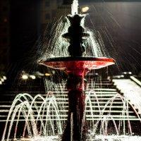 ночной фонтан :: Ольга