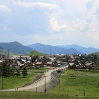 Сельские пейзажи Горного Алтая :: Владимир Юдин