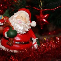 Новогодняя игрушка дед мороз :) :: Elena N