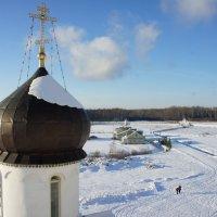 Вид с колокольни Крыпецкого монастыря :: Елена Павлова (Смолова)