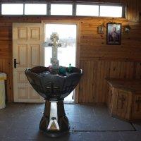 Внутри часовни преподобного Саввы :: Елена Павлова (Смолова)