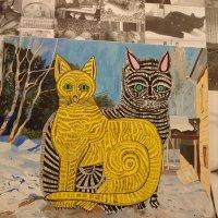 """Картина Лебедева Славы """"Мартовские коты"""" :: Galina194701"""