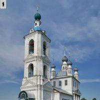 Ярославль. Покровский храм в Толгоболе :: Алексей Шаповалов Стерх