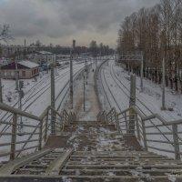 Путь к перрону :: Valeriy Piterskiy