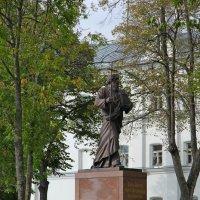 Памятник Андрею Первозванному на Валааме. :: Сергей Крюков