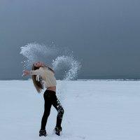 Снежный пляж :: Риша Сафиулина