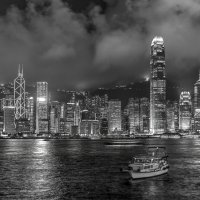 Черно-белый Гонконг :: Антон Мазаев