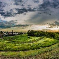 Сельский пейзаж :: Максим Христолюбов