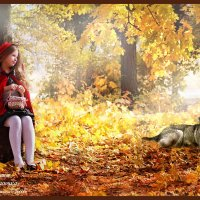 Красная шапочка :: Любовь Кастрыкина