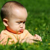 Малыш и ромашка ) :: Galiya Tuleugaliyeva