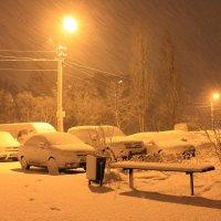 Ночной снег :: Ярослав