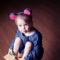 Маленькая мышка :: Галина Ситникова